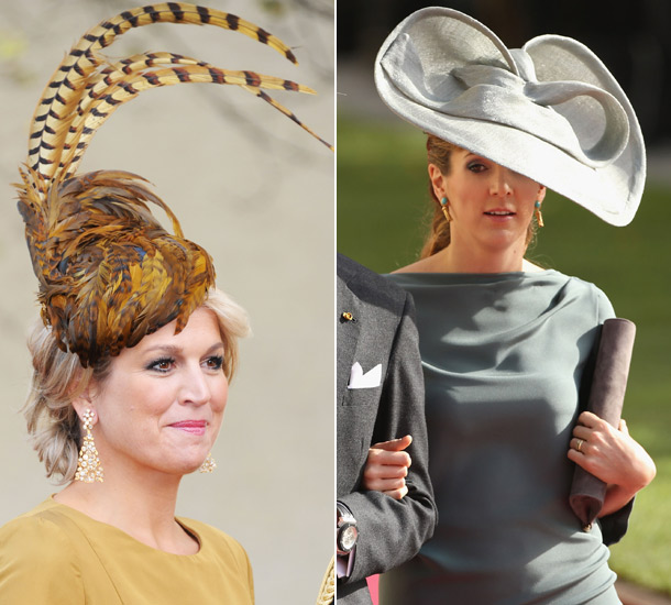 Hats off  the stylish guests and their magnificent headgear 8d6f90296e3