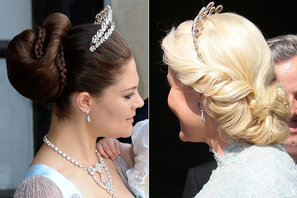 Admirable The Hair And Make Up Looks From The Swedish Royal Wedding Short Hairstyles Gunalazisus