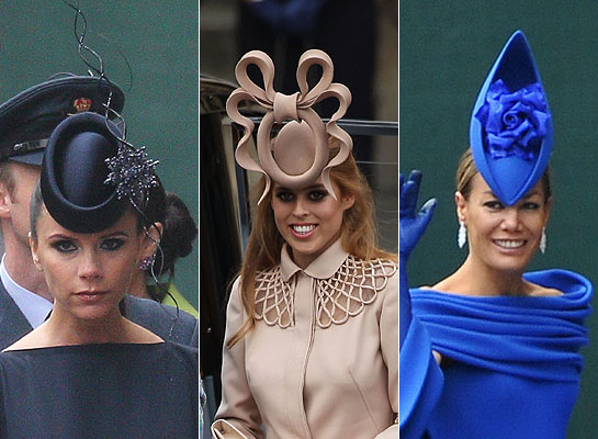 Royal Wedding  Philip Treacy designs hats for royalty and celebritys ... 800d42c9e97