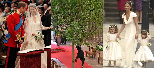 Vote for your favourite moment of the royal wedding