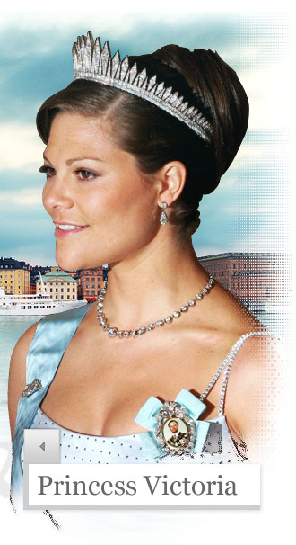 de Princess Victoria of Sweden