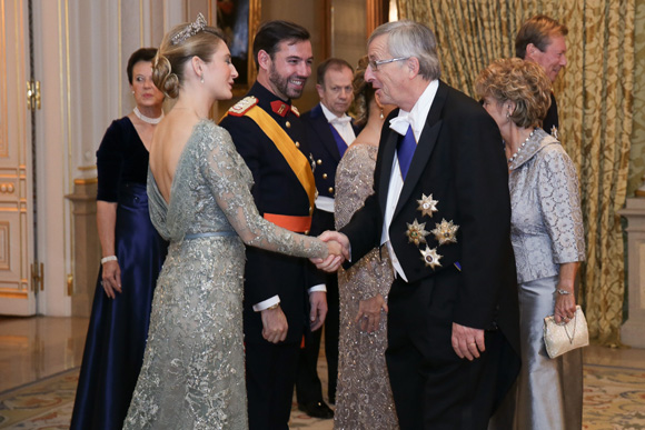 Luxembourg Royal Wedding Prince Guillaume And Princess