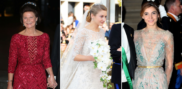 Elie Saab: the designer behind the weddings' gorgeous gowns