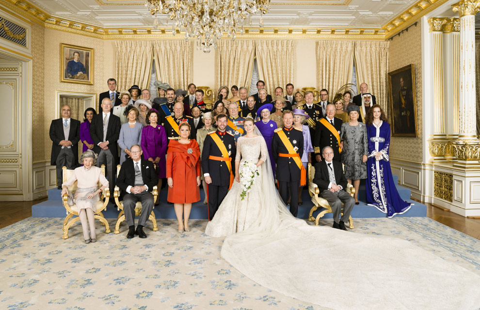 Royal Wedding Luxembourg Royal Wedding The Latest Official Photographs Of The Couple And Their