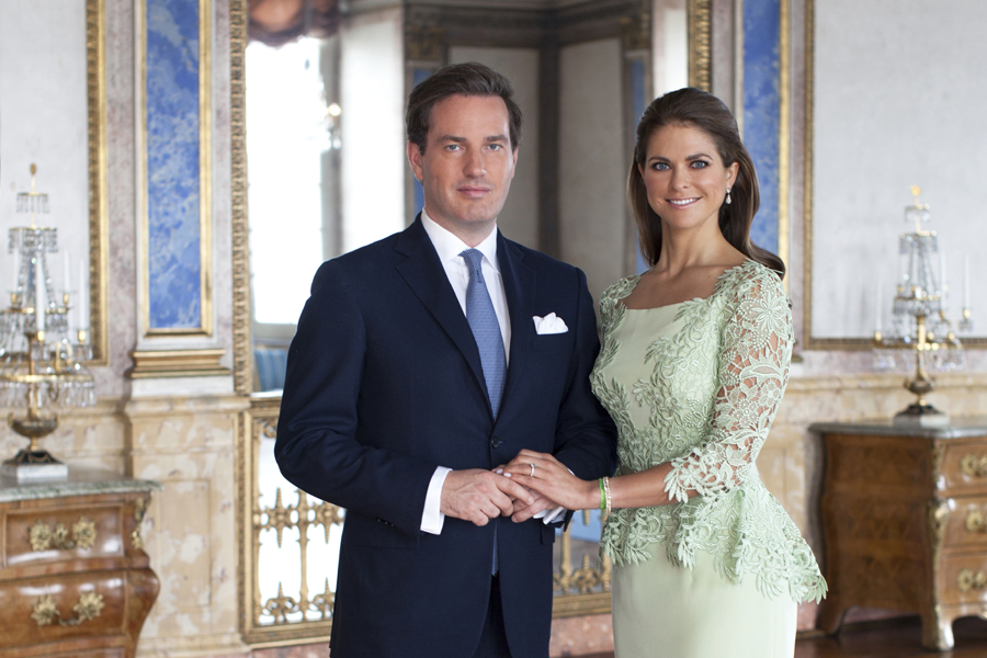 Princess Madeleine and Chris O'Neill in new official