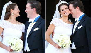 A day filled with emotion for Chris O'Neill as he weds Princess Madeleine