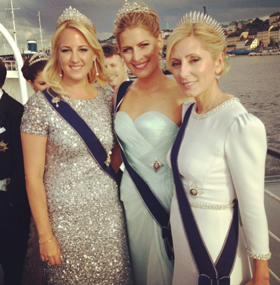 Princess Marie Chantal Shares Insider Snaps Of The Royal Wedding On Instagram