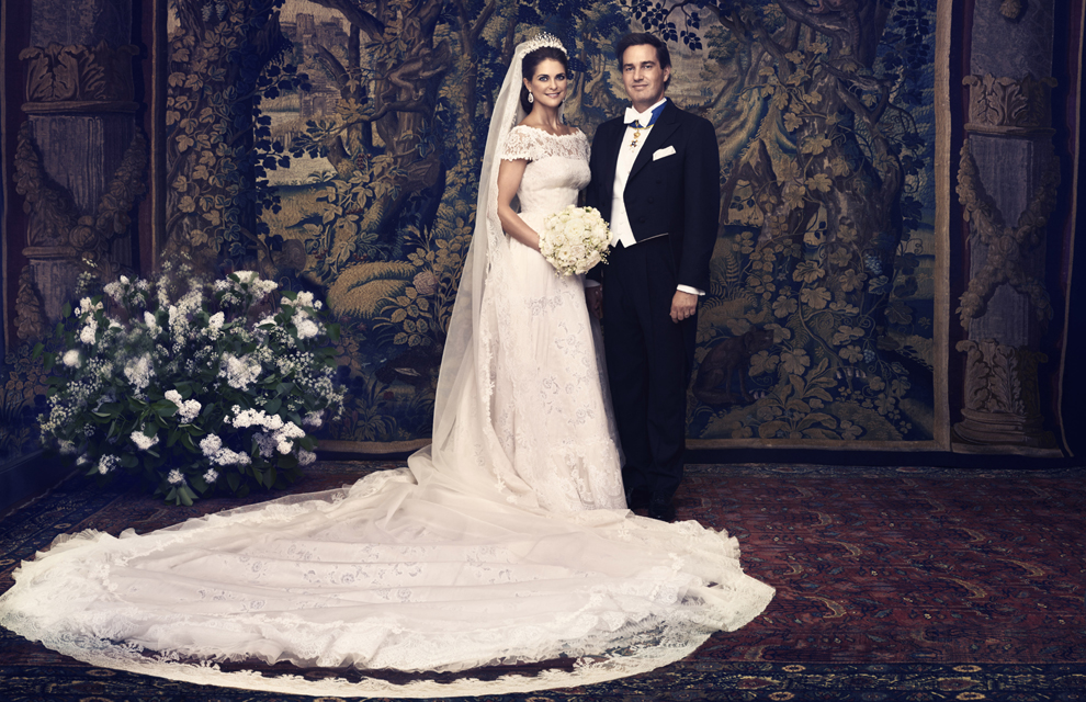 Official Royal Wedding Pictures.Princess Madeleine And Chris O Neill S Official Wedding Photographs