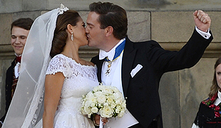 The best moments from Princess Madeleine's big day