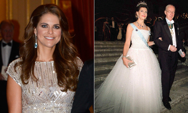 Princess Madeleine Recycles One Of Her Mothers Gowns For Wedding Reception As Banquet Menu Is Revealed