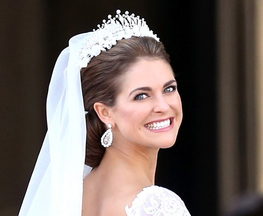 The hair and make-up looks from the Swedish royal wedding ...