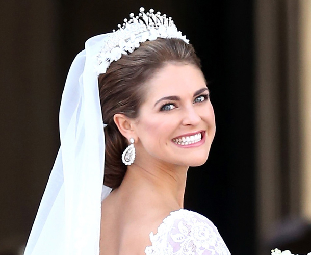 Full Coverage Makeup For Wedding : The hair and make-up looks from the Swedish royal wedding