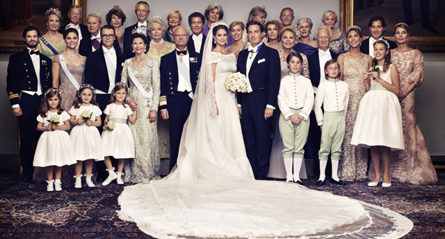 The secrets behind Princess Madeleine's wedding pictures