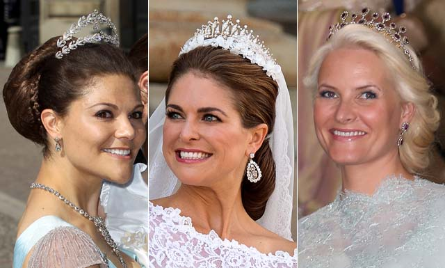 The best beauty looks from the Swedish royal wedding