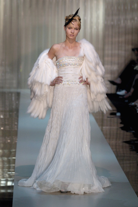 A Look At Armani S Past Bridal Creations