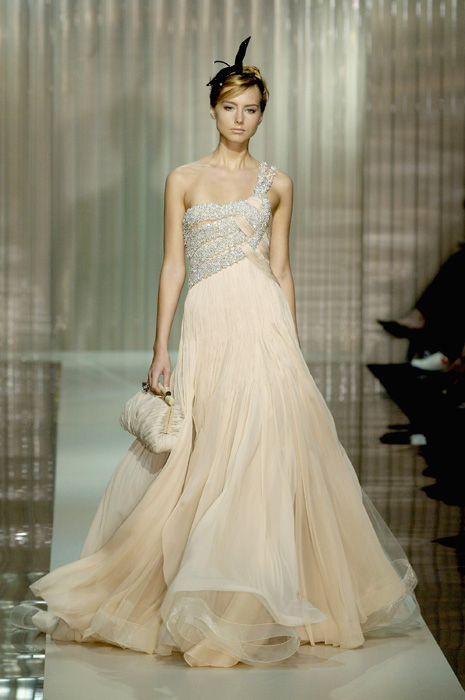 A look at Armani\'s past bridal creations
