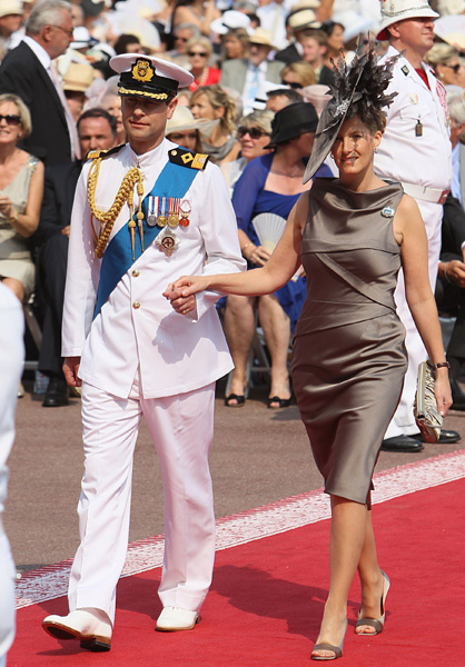 Monaco Royal Wedding Royalty And VIPS Arrive For The Religious Ceremony Of Prince Albert And