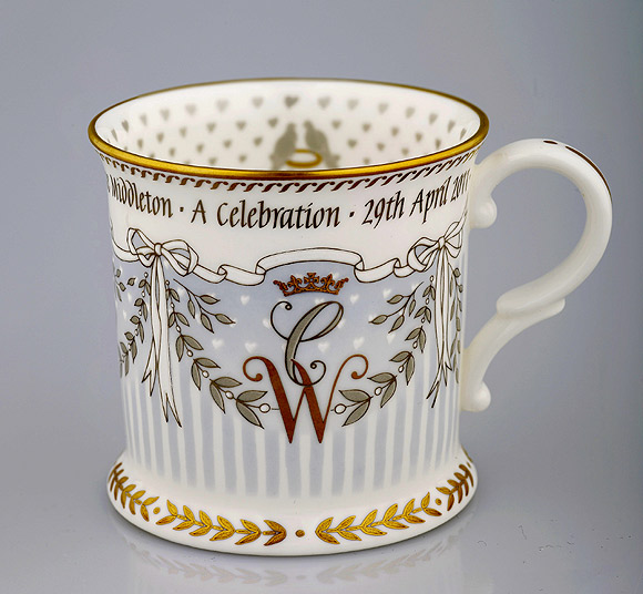 tankard  a - Royal Wedding Memorabilia