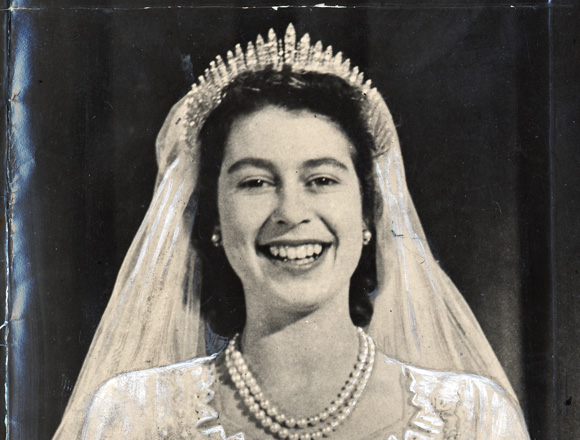 queen elizabeth ii wedding day. later Queen Elizabeth II
