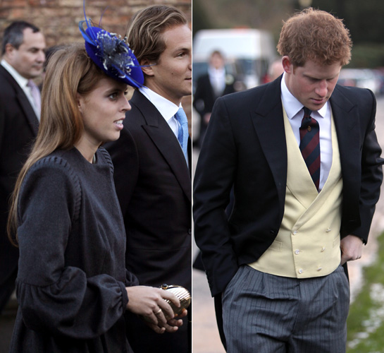 Royal Wedding: Kate Middleton And Prince William Attend