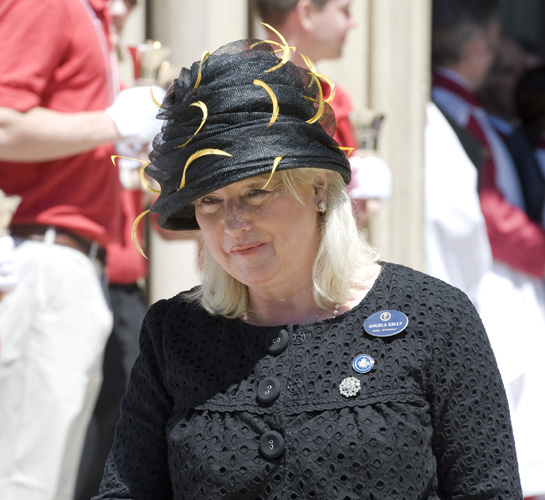 Royal Wedding Queen S Confidant Angela Kelly To Dress Her