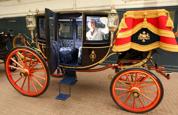 Royal wedding royal wedding transport revealed including for Car carriage