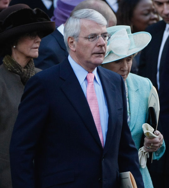 john major  a - Prince William Wedding Suit