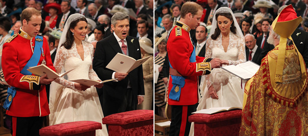 Elation as William weds his Duchess